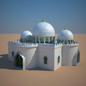 3d model dome architecture