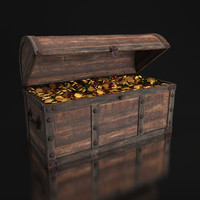Old chest of treasures