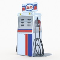 Esso fuel dispenser