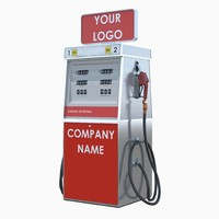 tunable fuel dispenser 3d max
