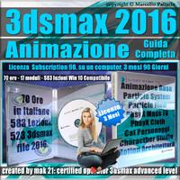 Corso 3ds max 2016 Animazione Guida Completa 3 mesi Subscription 1 Computer