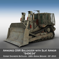 Armored D9R Bulldozer - 949634 - IDF