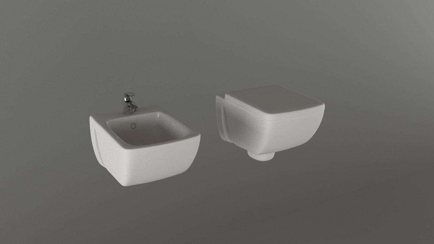 toilet bidet 3ds