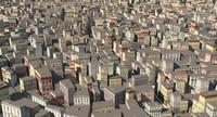 3d max city building