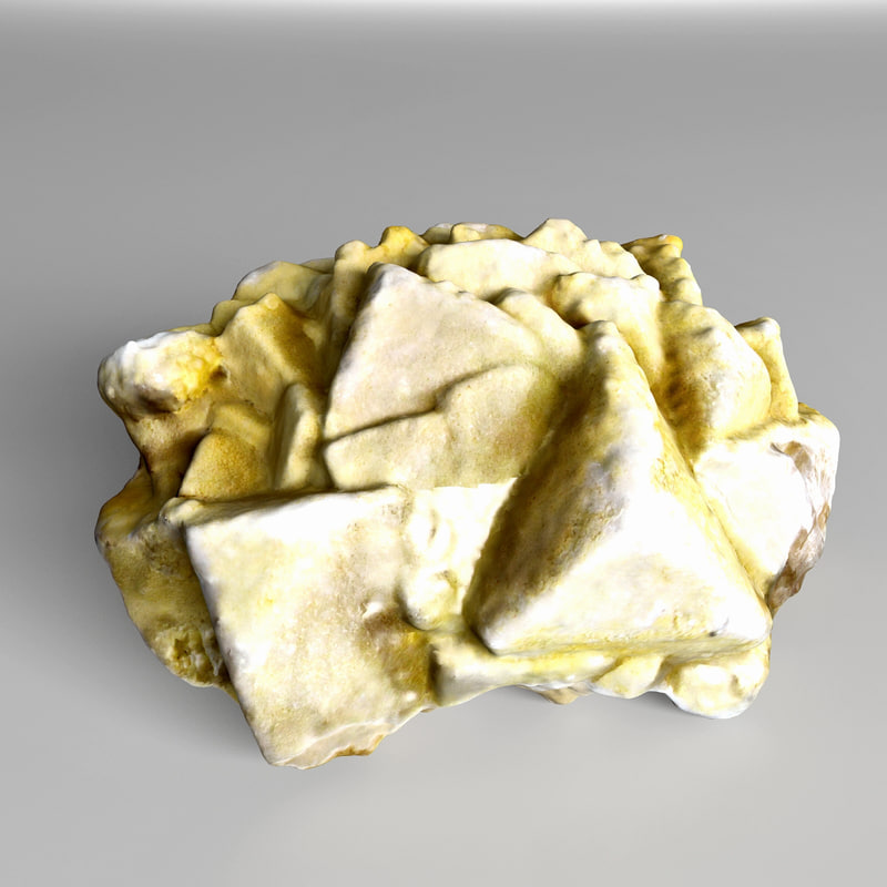 salt crystal 3d model