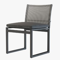 AEGEAN ALUMINUM SIDE CHAIR by restoration hardware