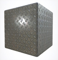 Diamond Plate with Mud