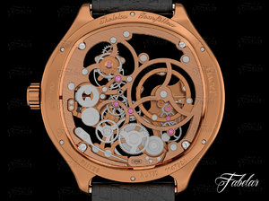 watch mechanism wristwatch 3d max