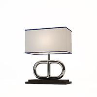 eichholtz table lamp anguilla 3d model