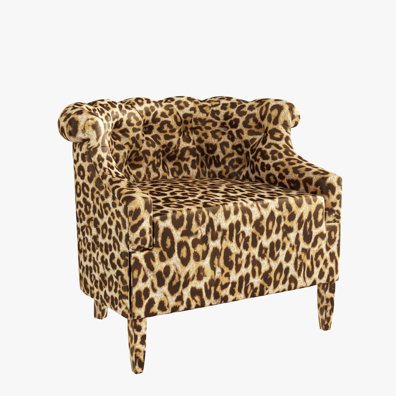 3d armchair lady e iconic