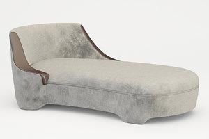 chaise promemoria gioconda 3d model