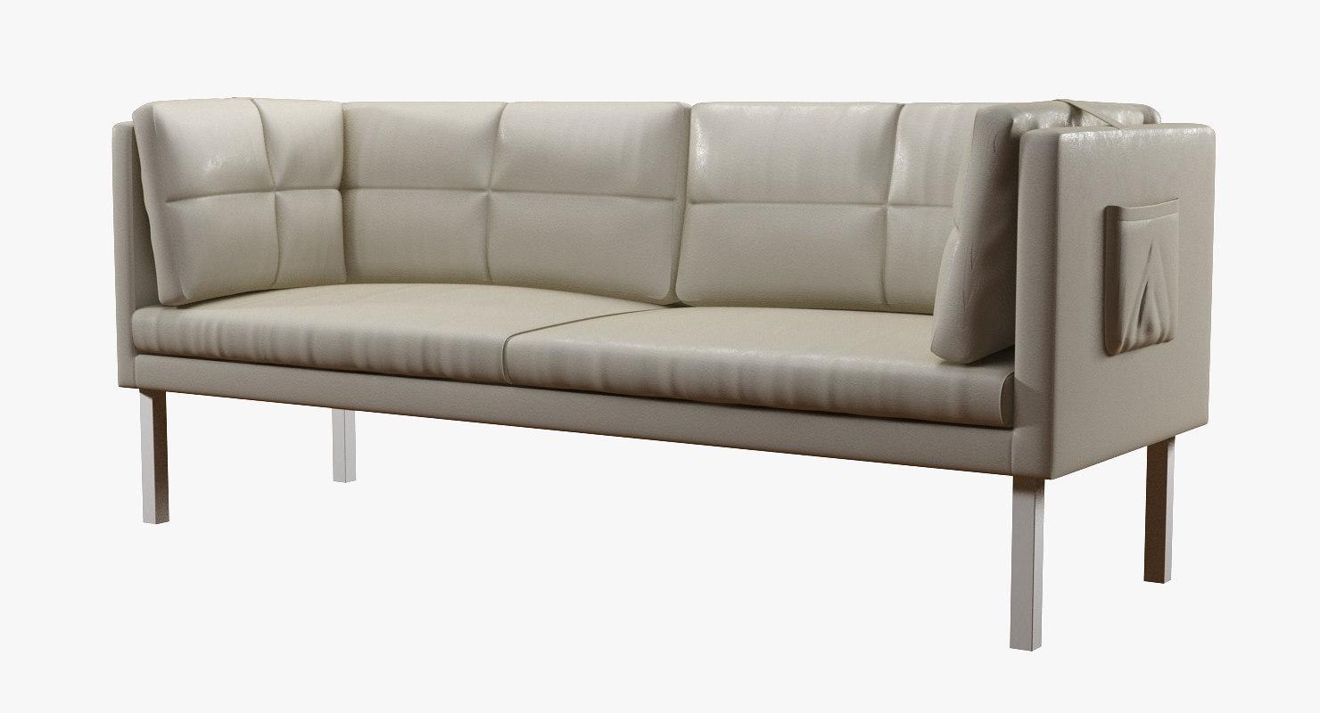 3d model of sofa furniture