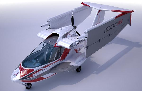 3d aircraft wings