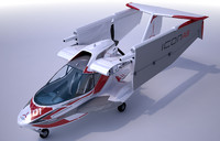 3d aircraft wings