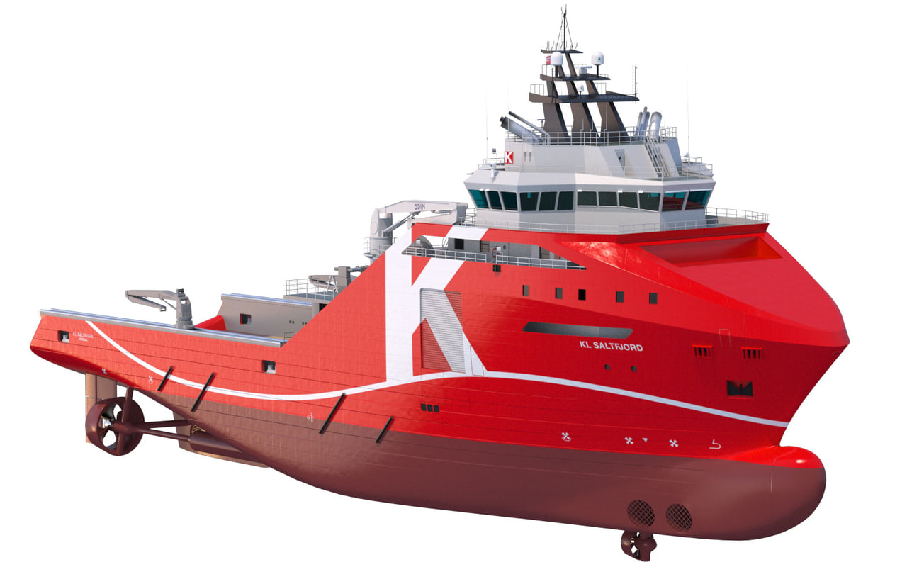 3d model vessel supply m