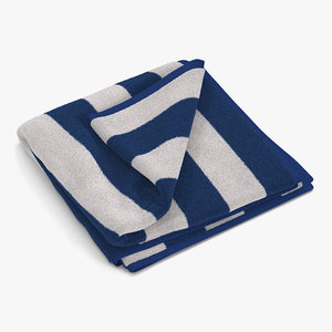 beach towel 2 white max