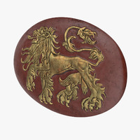 lannister shield c4d
