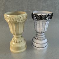 classic vase 3ds