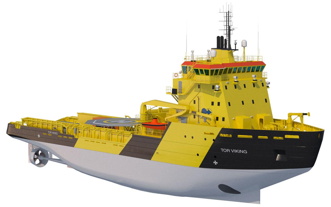3d icebreaker tor viking model
