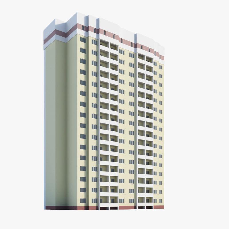 3d model residential module