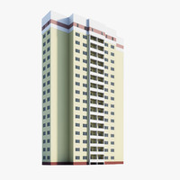 3d model of residential module
