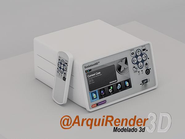 3d medical equipments model