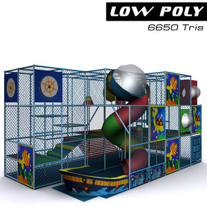 playground ready games 3d obj