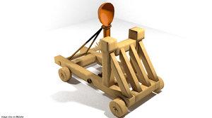 3ds catapult siege medieval