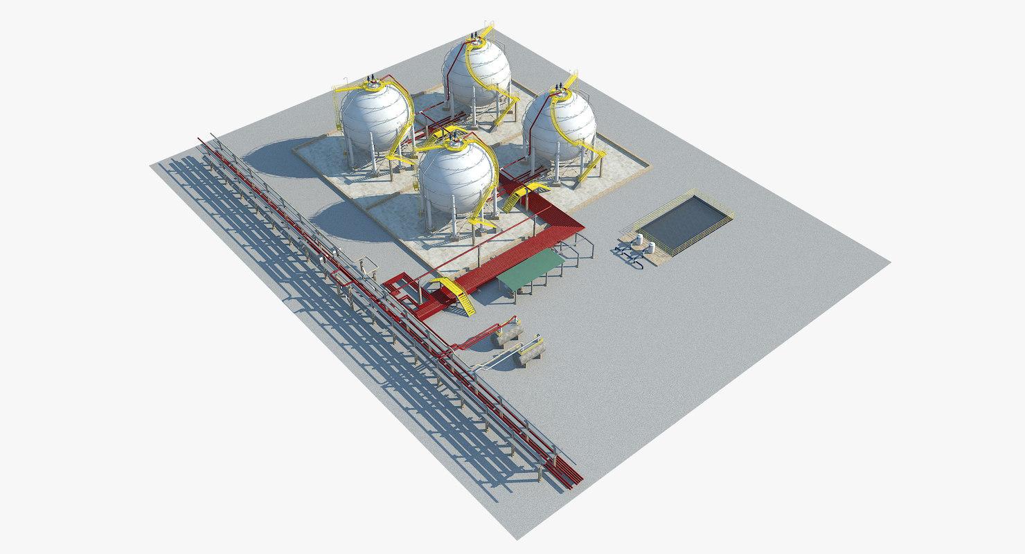 3d autabo gas plant strorage