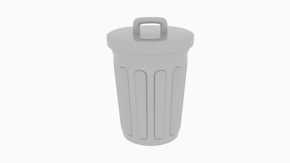 trash bin 3ds