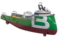 Anchor Handling Tug Supply Vessel BOURBON ORCA
