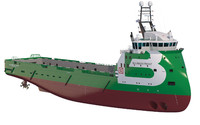 Platform Supply Vessel BOURBON FRONT