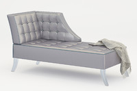 3d max chaise odd chair company