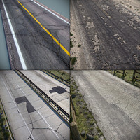 Detailed Roads Collection