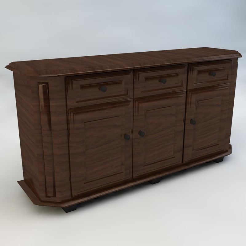 classic dresser c4d
