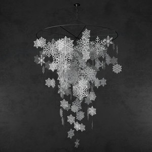 max snowflakes paper