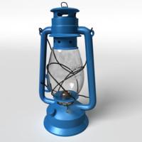 3d realistic lantern hurricane