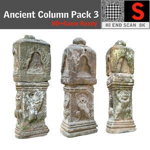 ancient column pack 3 max