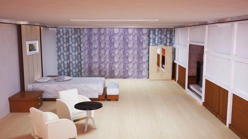 bedroom interior 3d ma