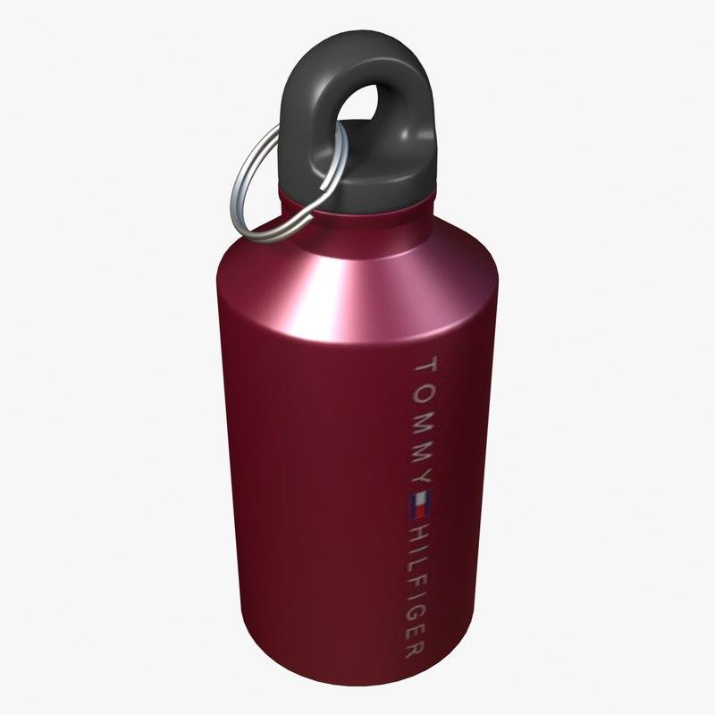 thermos bottle 3d model