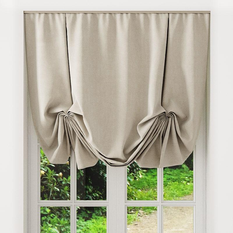 3d austrian blinds model