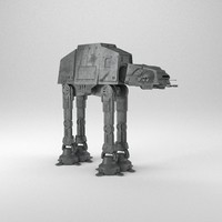 3d at-at walker star wars