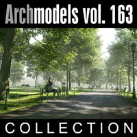 3d archmodels vol 163 trees