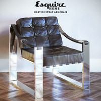 esquire home martini strap 3d model