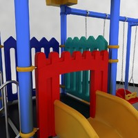 3d model playground equipment