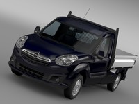 opel combo tipper 2015 3d model