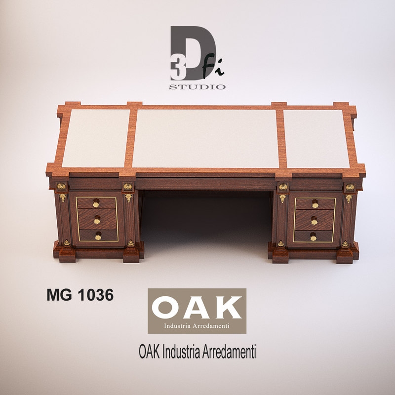 3d model mg 1036 oak industria