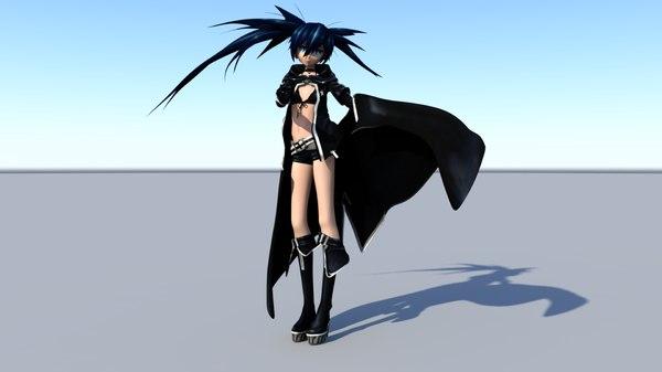 black rock 3d model