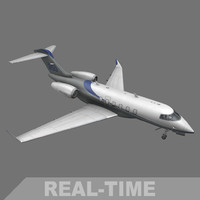 Challenger 350 (real-time)