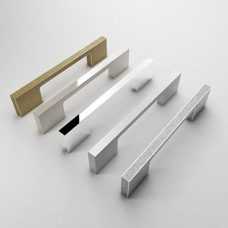 3d kitchen door handle 6570 model